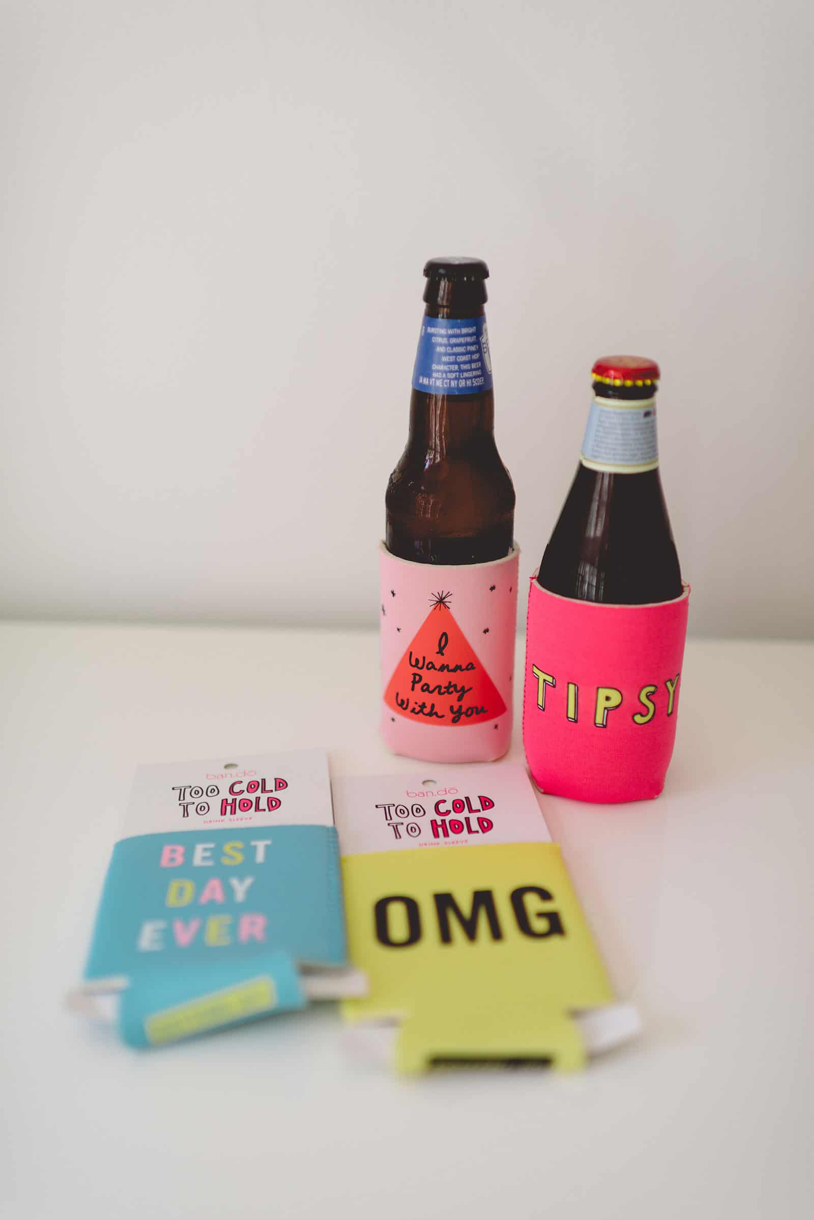 Tiffani Thiessen's Favorite Things • July 2015 • Ban.do Drink Sleeves • Photo by Rebecca Sanabria