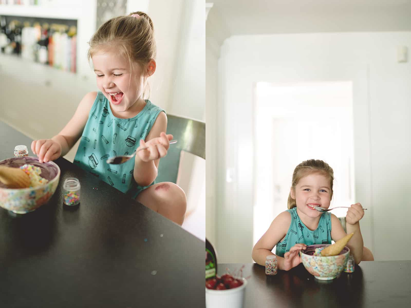 I Scream For Ice Cream by Tiffani Thiessen • Photography by Rebecca Sanabria