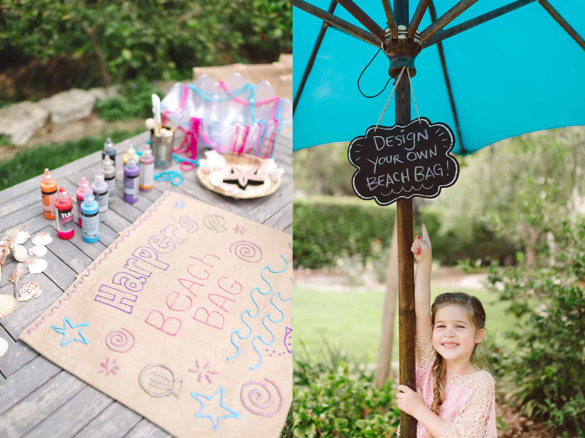 Fins & Tales • Harper turns 5 by Tiffani Thiessen • Photography by Rebecca Sanabria