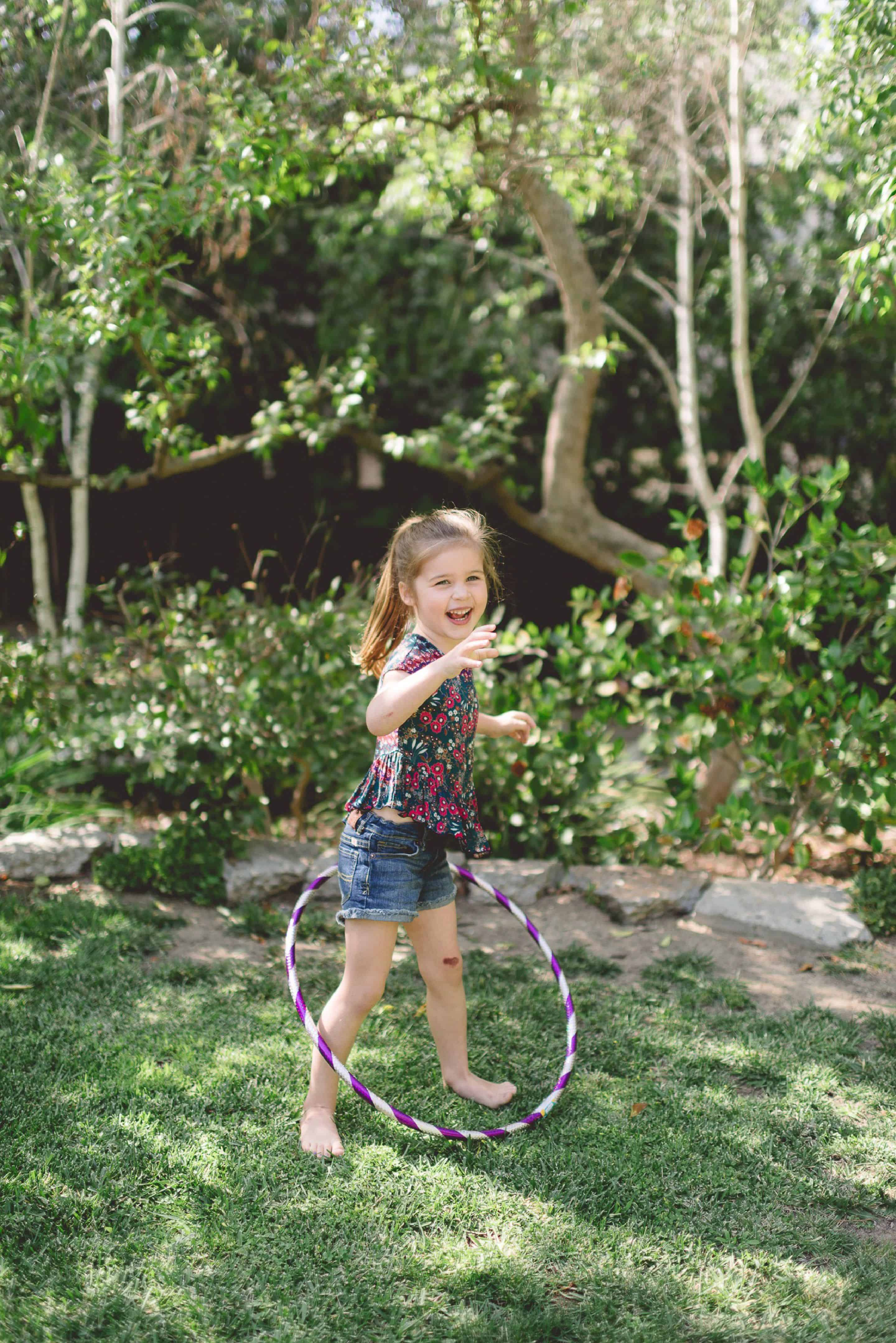 Harper's Hula Hoopla by Tiffani Thiessen • Photography by Rebecca Sanabria