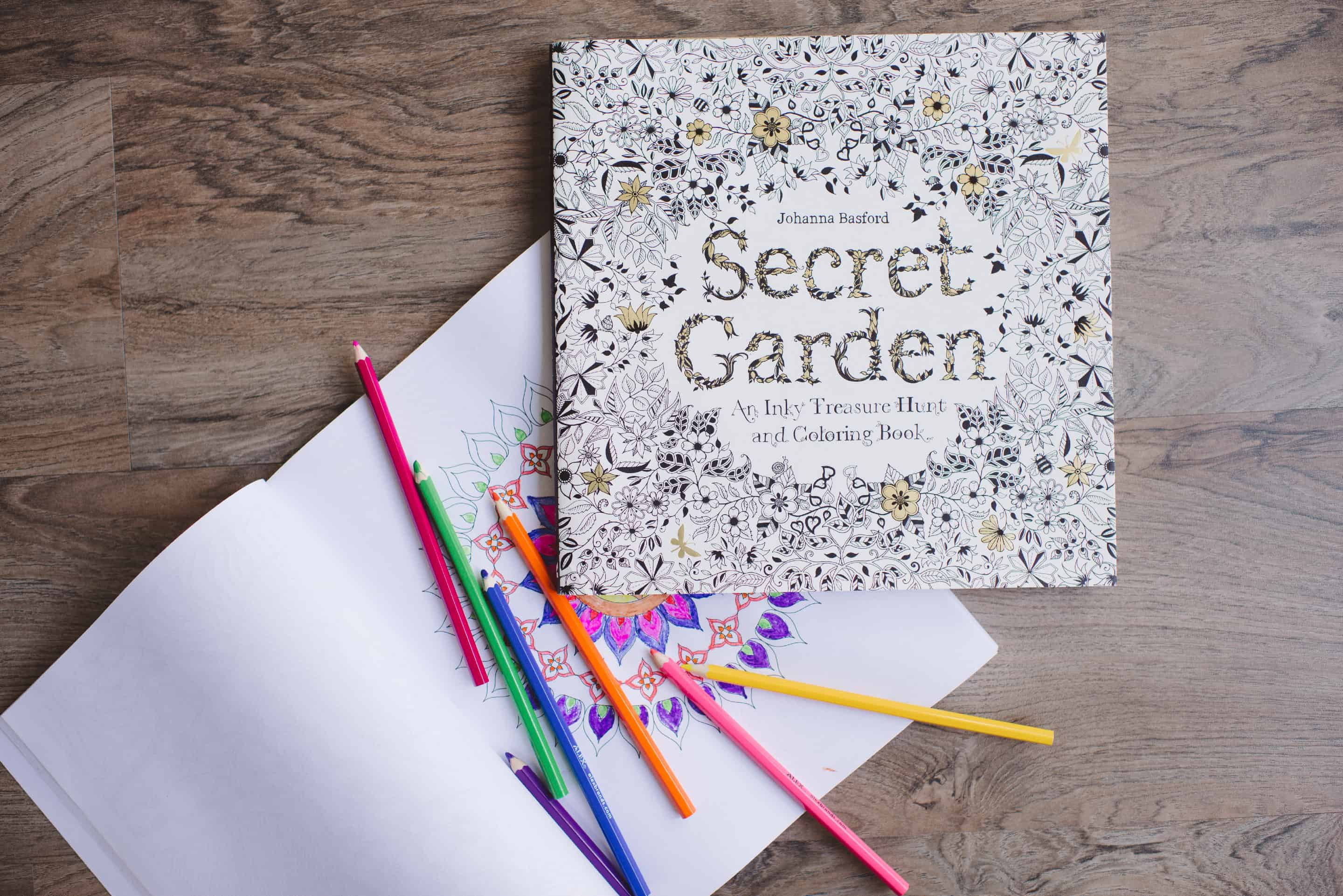 Adult Coloring Books • October Favorite Things by Tiffani Thiessen • Photos by Rebecca Sanabria