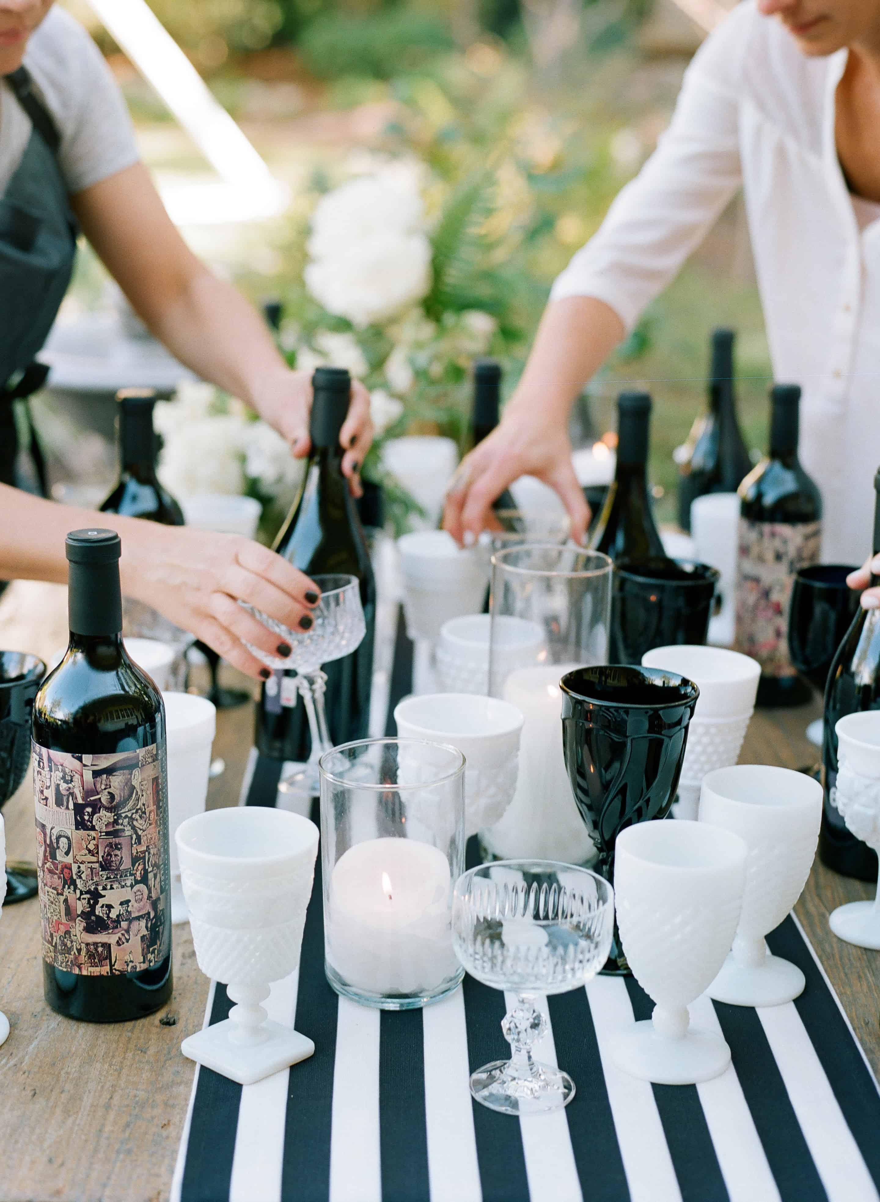 Vino VIP by TiffaniThiessen • Photos by Elizabeth Messina