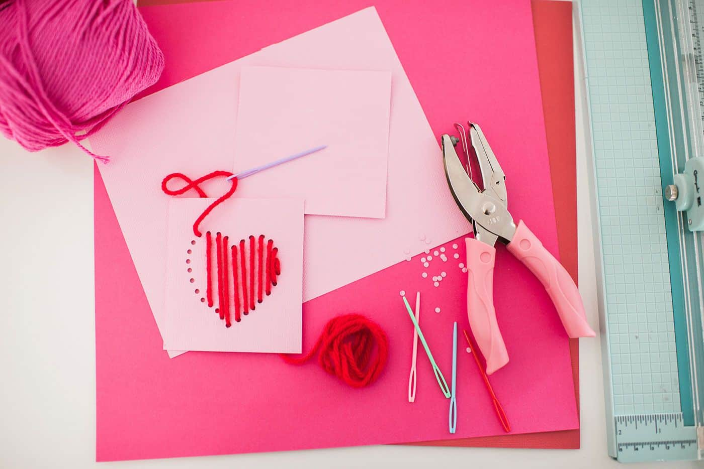 Homemade Valentines by Tiffani Thiessen • Photos by • Rebecca Sanabria
