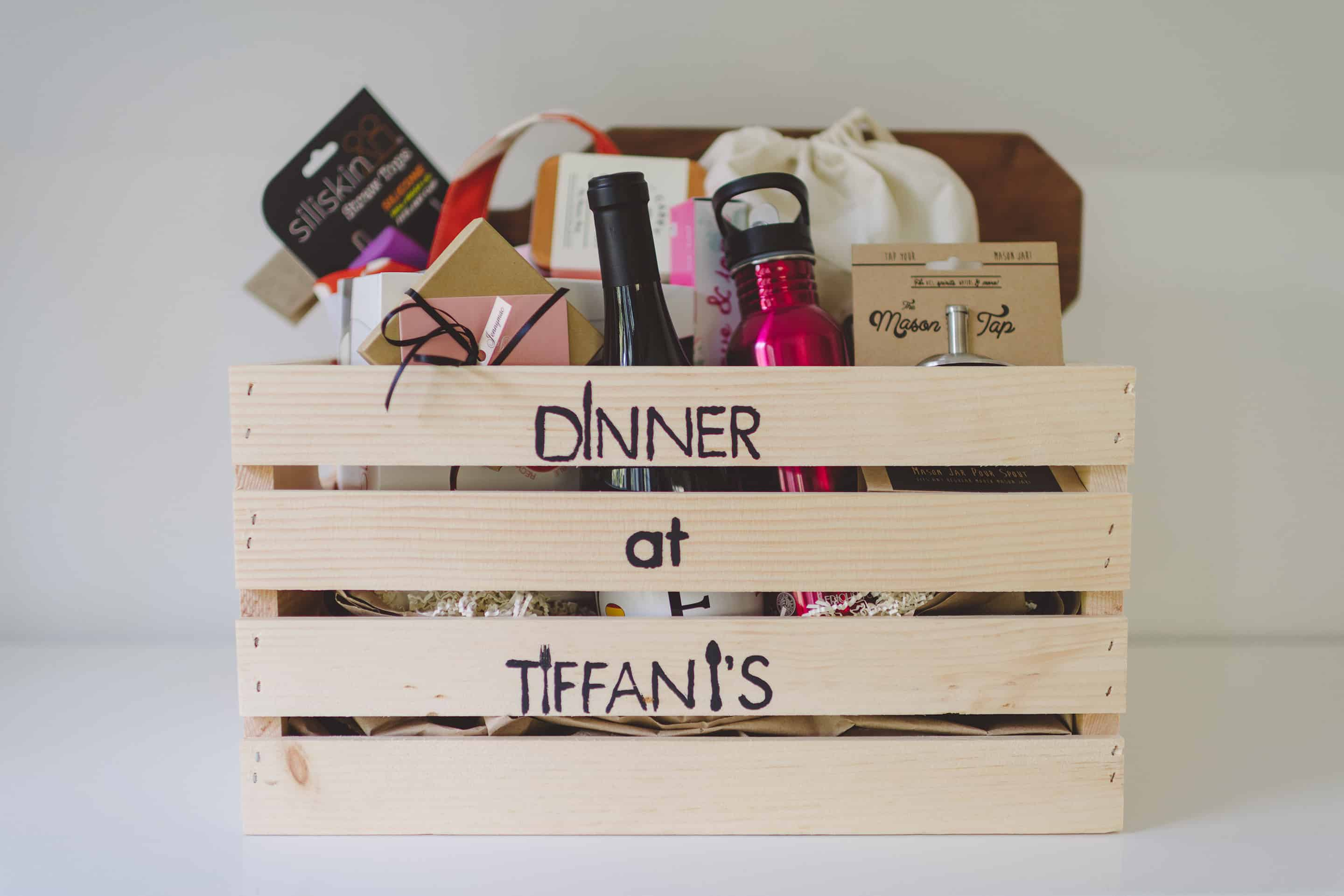 Dinner at Tiffani's Swag Crate Giveaway