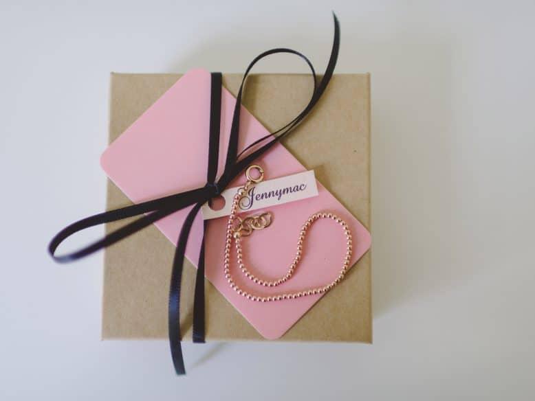 Jennymac Pinky Ball Bracelet - Dinner at Tiffani's Celebrity Crate