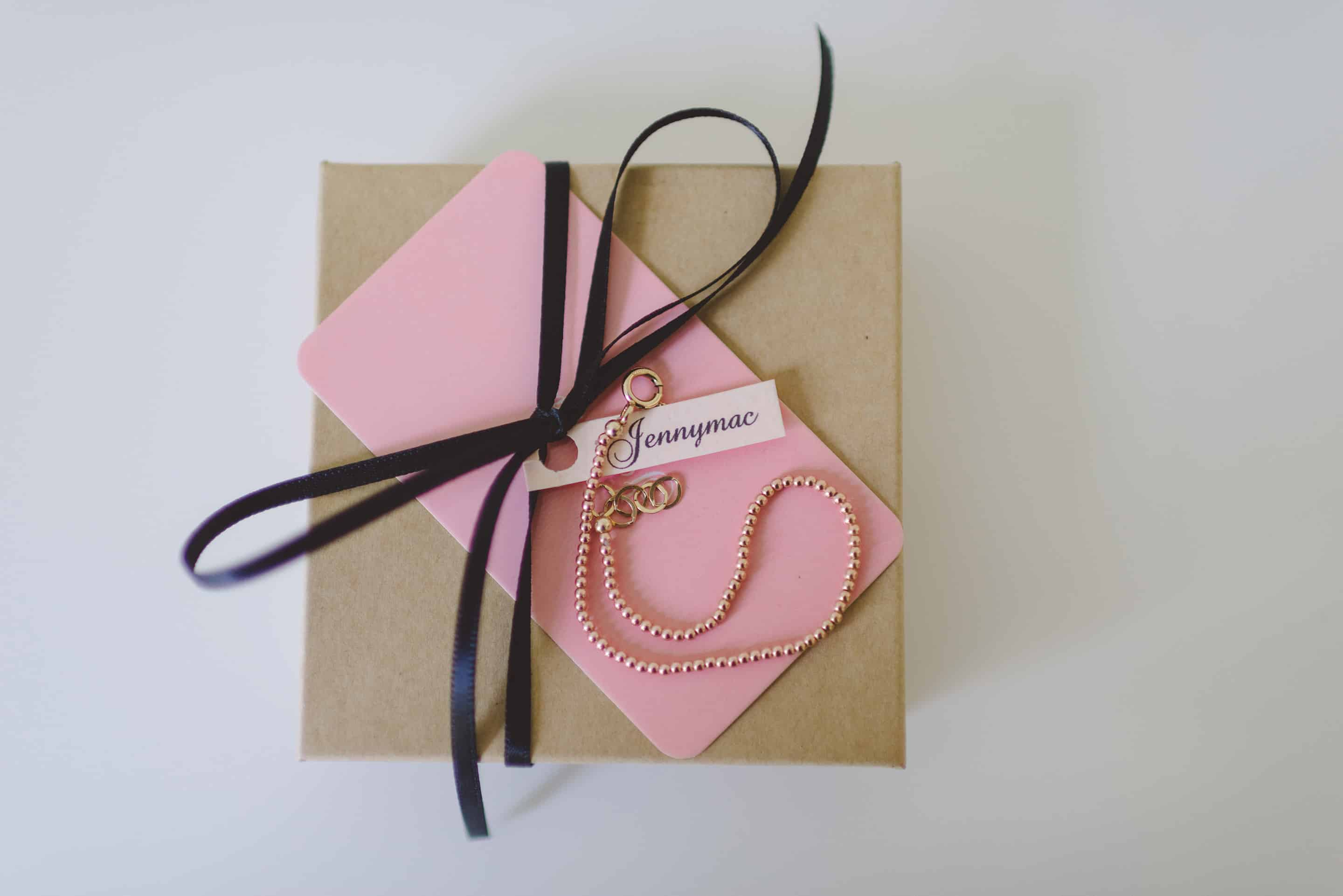 Jennymac Pinky Ball Bracelet - Dinner at Tiffani's Celebrity Crate
