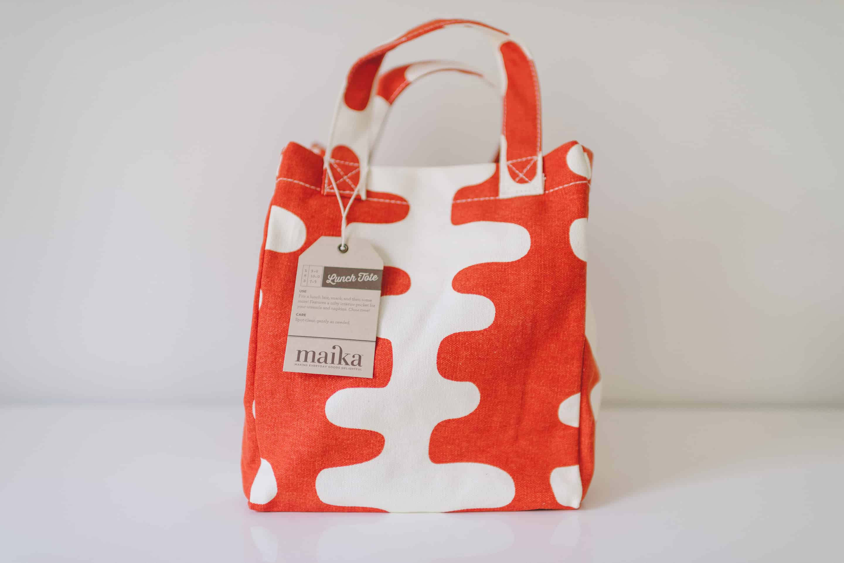 Maika Lunch Tote - Dinner at Tiffani's Celebrity Crate