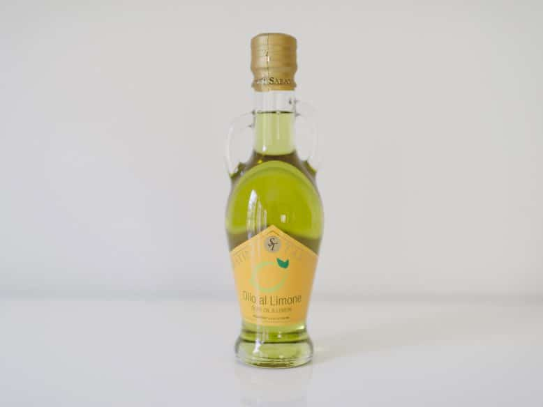 Sabatino Tartufi Lemon Infused Olive Oil - Dinner at Tiffani's Celebrity Crate