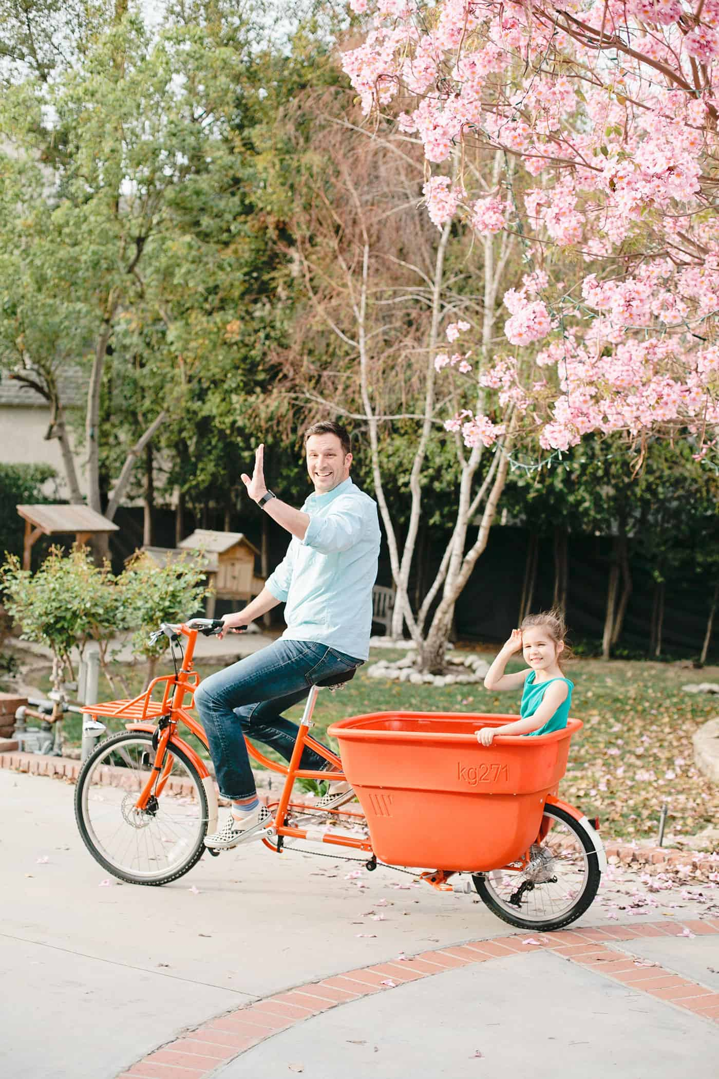 Tiffani Thiessen Spring Giveaway with Madsen Cycles & House of Mia • Photo by Megan Welker