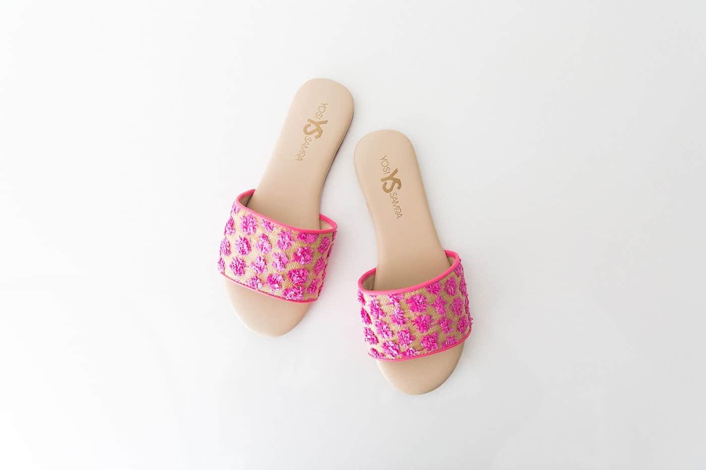 Tiffani Thiessen's Favorite Things June 2016 • Yosi Samra sandals • Photo by Brandon Kidd