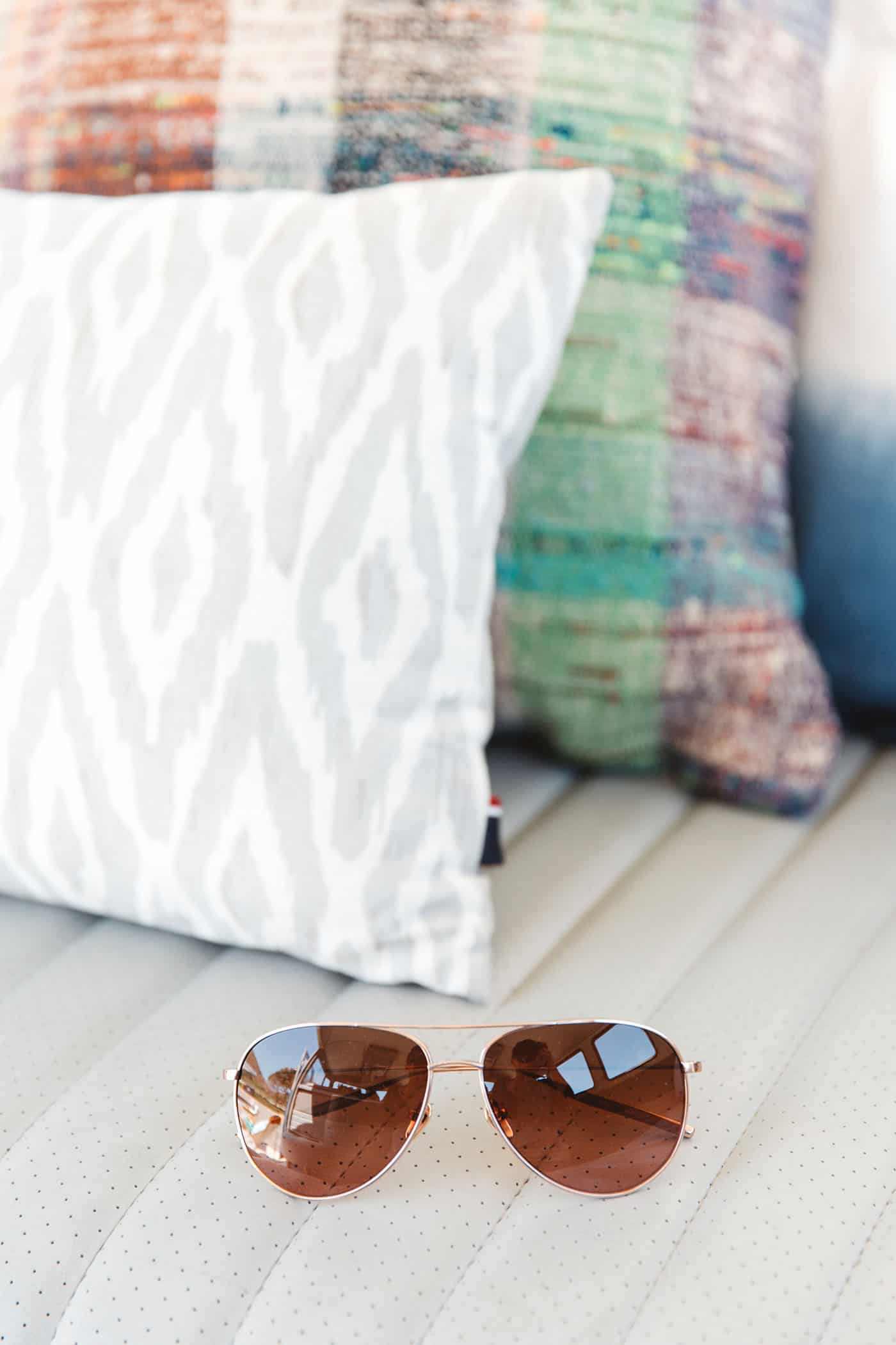 Tiffani Thiessen's Favorite Things July 2016 • Salt Optics sunglasses • Photography by Brandon Kidd