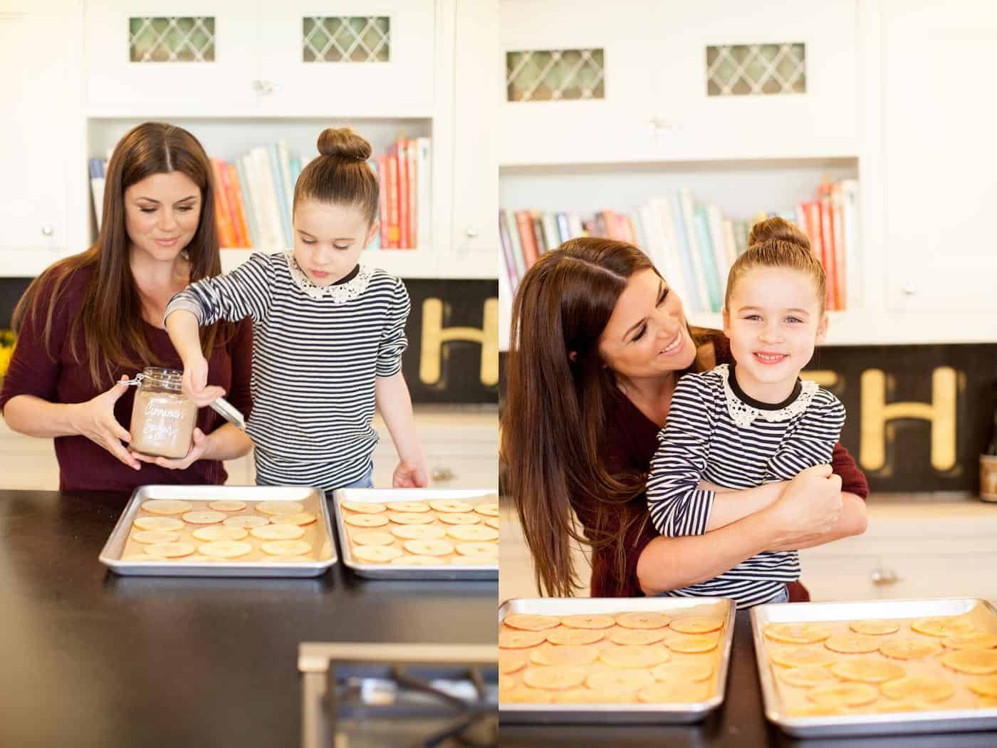 Apple Season Recipes with Tiffani Thiessen • Photos by Morgan Pansing