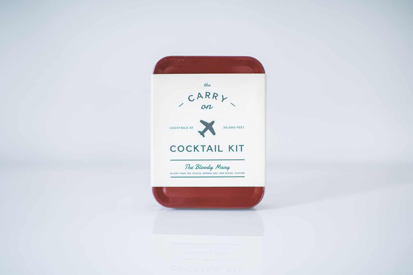 Tiffani Thiessen's Holiday Gift Guide 2016: Stocking Stuffer (male): Carry On Cocktail Kit