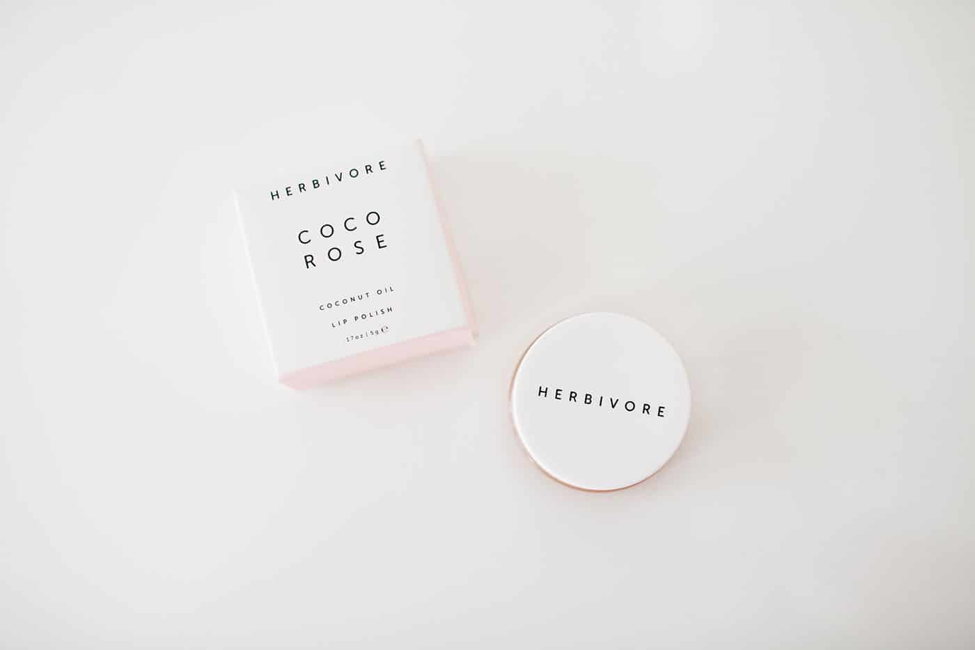 Tiffani Thiessen's Holiday Gift Guide 2016: Stocking Stuffer (female): Herbivore Botanicals Coco Rose lip polish