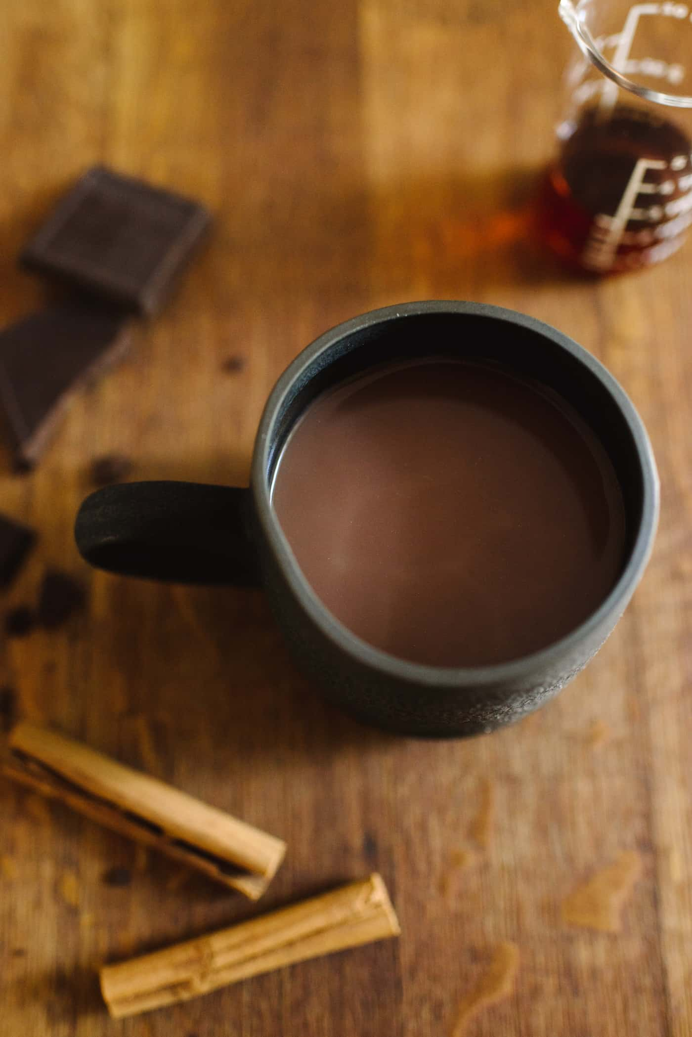 Spiked Hot Chocolate Recipe by Tiffani Thiessen