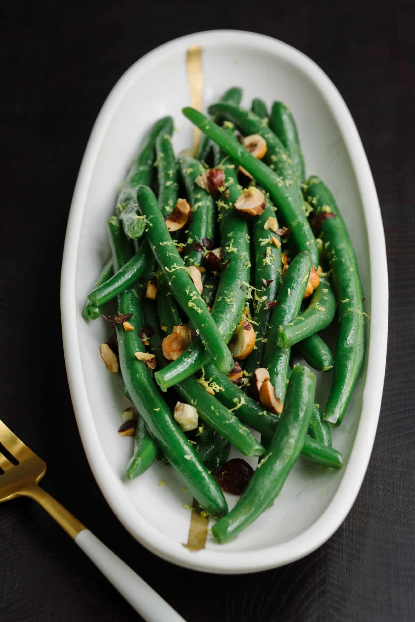 String Beans Recipe by Tiffani Thiessen