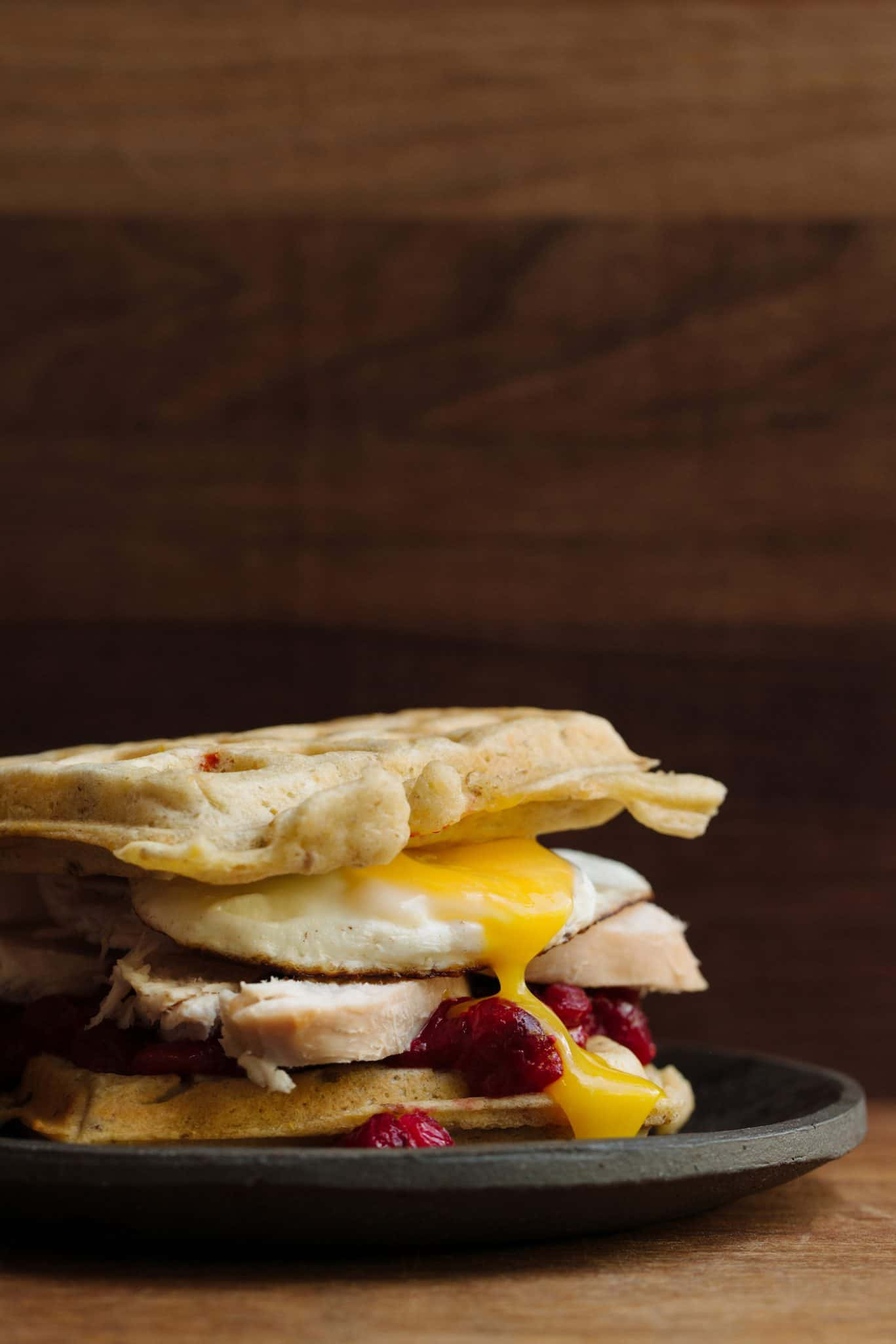 Turkey Waffles Recipe by Tiffani Thiessen
