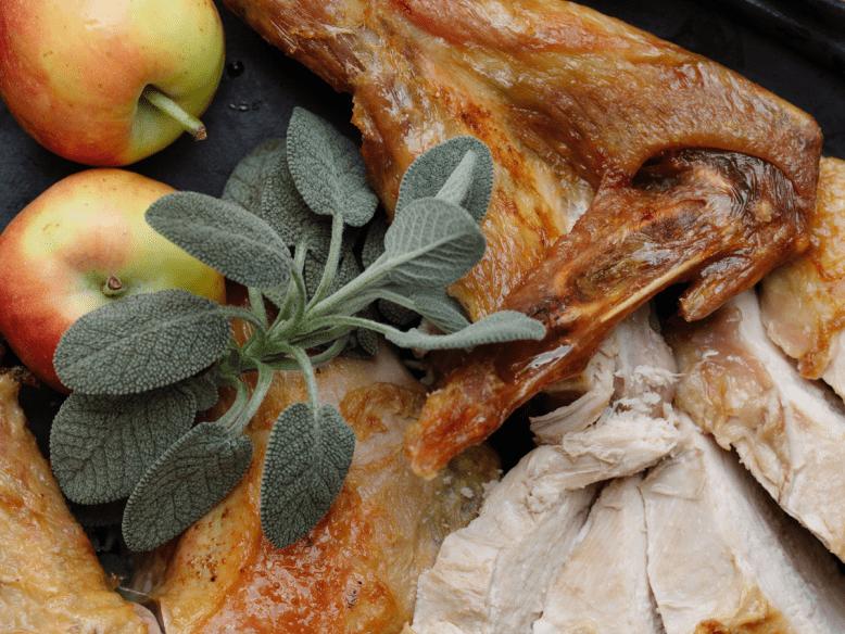 Fried Turkey Recipe by Tiffani Thiessen