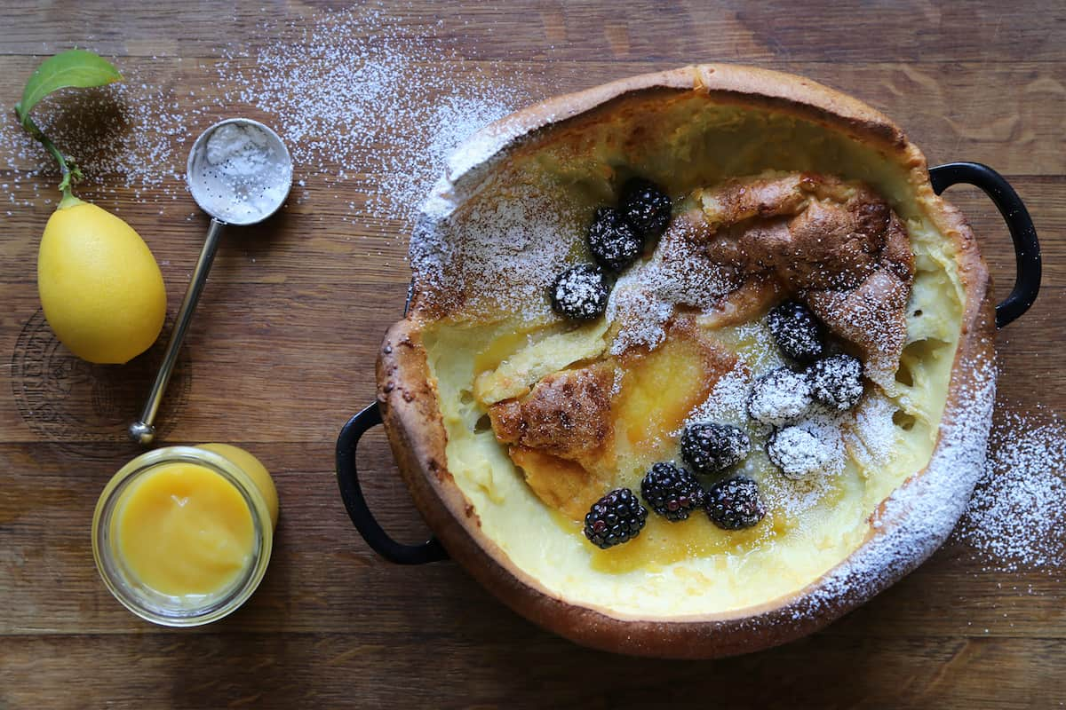 Dutch Baby Recipe by Tiffani Thiessen