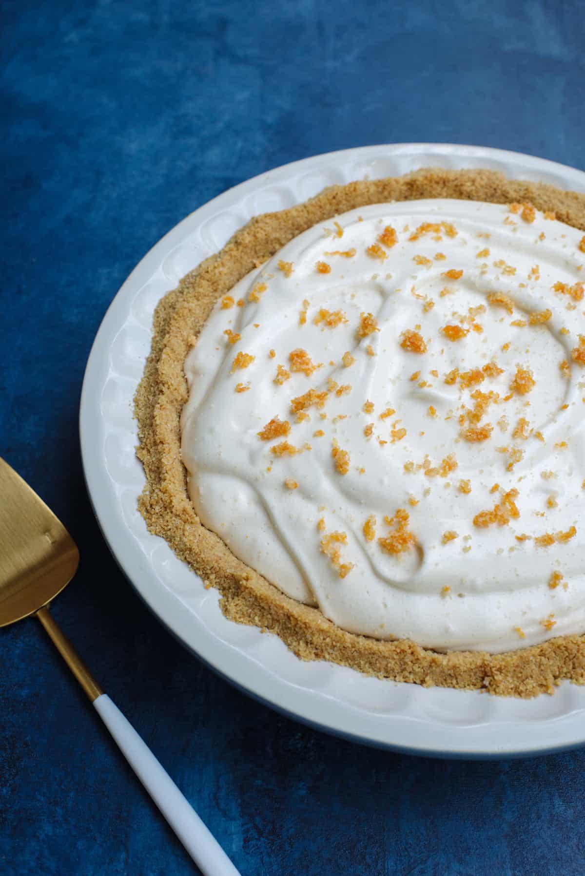 Grapefruit Chiffon Pie Recipe by Tiffani Thiessen