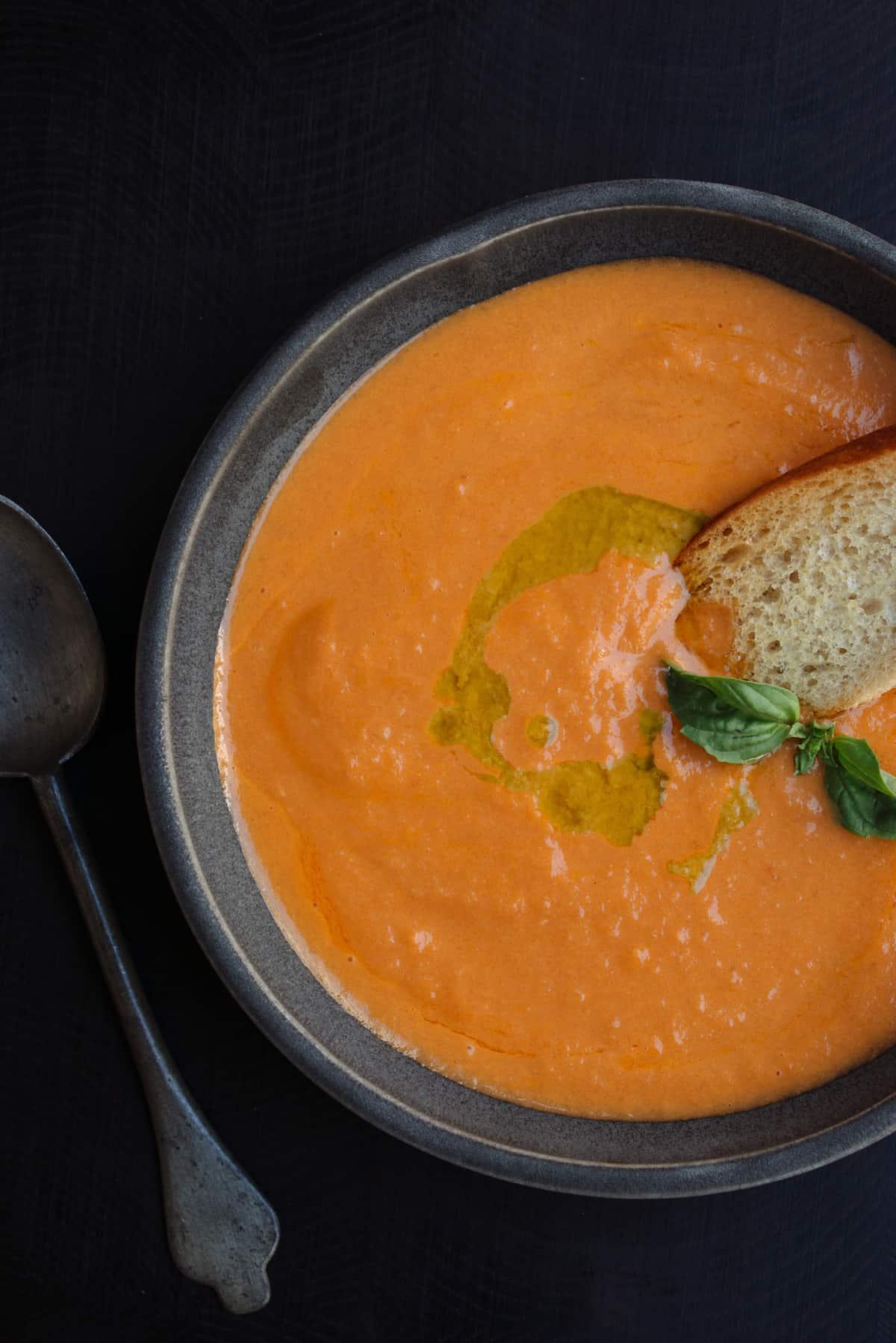 Tomato Soup Recipe by Tiffani Thiessen