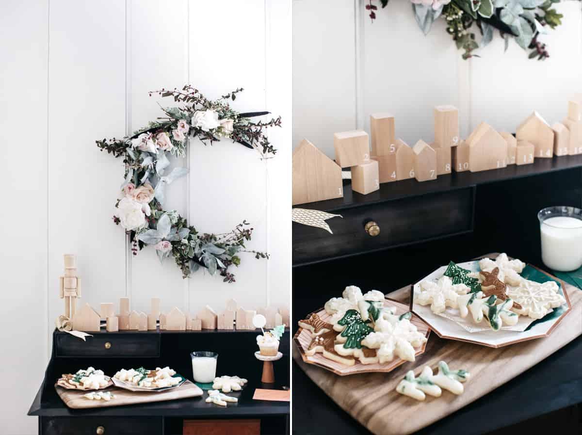 Christmas cookies by Jenny Keller and Tiffani Thiessen