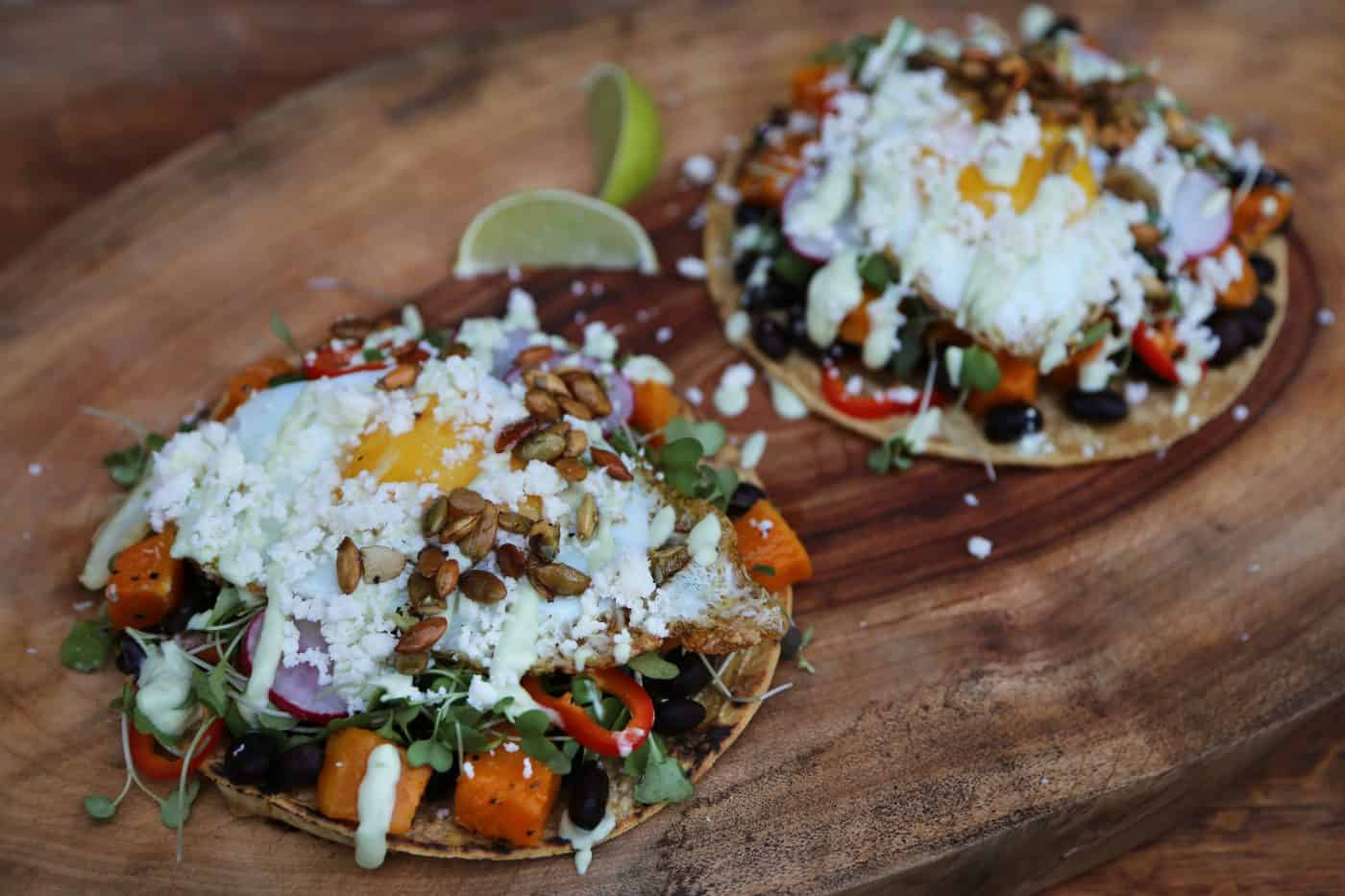 Breakfast Tacos by Tiffani Thiessen